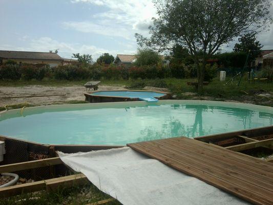 Boisylva aquitaine multiservices construction bois - Mise en route piscine ...