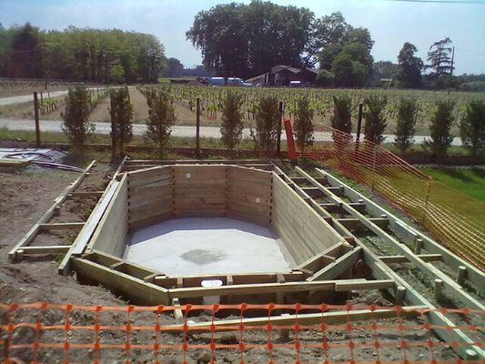 Boisylva aquitaine multiservices construction bois for Piscine structure bois