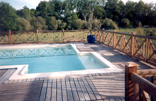 1000 images about exterieur on pinterest piscine hors ForCloture Bois Piscine