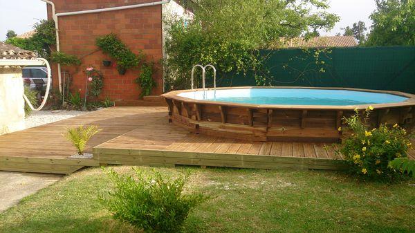 Constructeur terrasse bois gironde diverses for Constructeur piscine bois