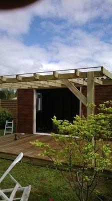 Boisylva aquitaine multiservices construction bois for Cuisine ete exterieure pergola