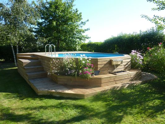 Boisylva aquitaine multiservices construction bois for Piscine tubulaire bois